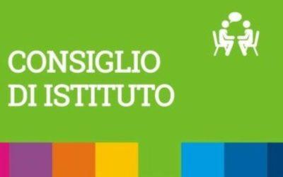 Convocazione Consiglio dell'Istituzione (martedì 23 marzo, 17.30)