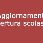 Organizzazione attività scolastiche (in presenza) da giovedì 8 aprile 2021