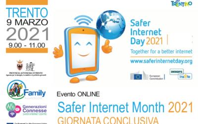 Oggi si chiude il Safer Internet Month (9 marzo 2021)