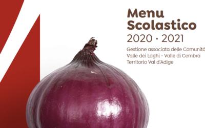 Menù scolastico e calendario menù a.s. 2020/21
