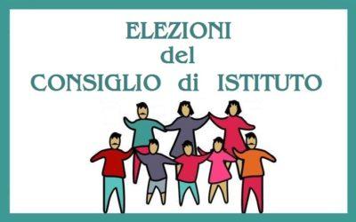 Assemblee di classe e elezioni dei rappresentanti dei genitori as2021-22, Elezioni del Consiglio Istituzione scolastica 2021-2024