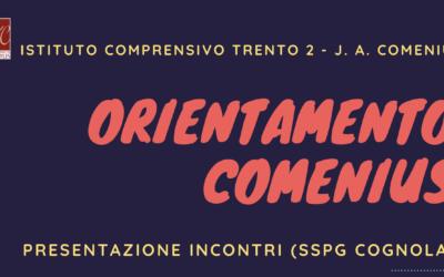 Attività orientamento scolastico SSPG IC Tn2 as 2021-22