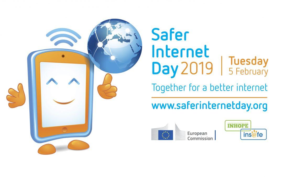 """Safer Internet Day 2019 – partecipazione serale per i genitori gratuita (ma è necessario ritirare il biglietto presso il punto informativo del Teatro Auditorium """"Santa Chiara"""")"""