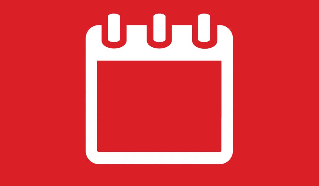 Calendario delle attività didattiche a. s. f. 2019/2020 (fonte: Vivoscuola)