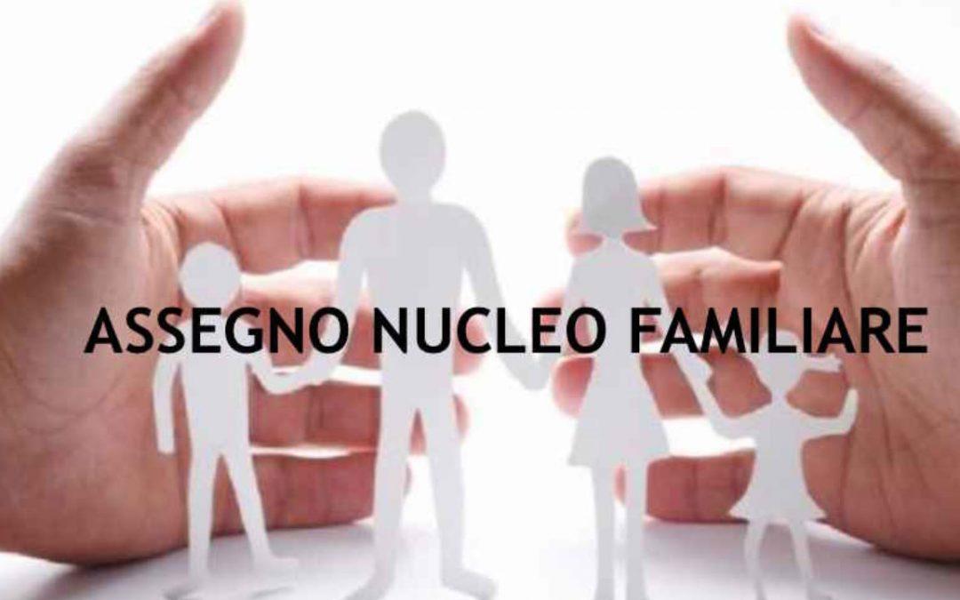 INTEGRAZIONE Circolare Assegno per nucleo familiare a.s. 2019-20