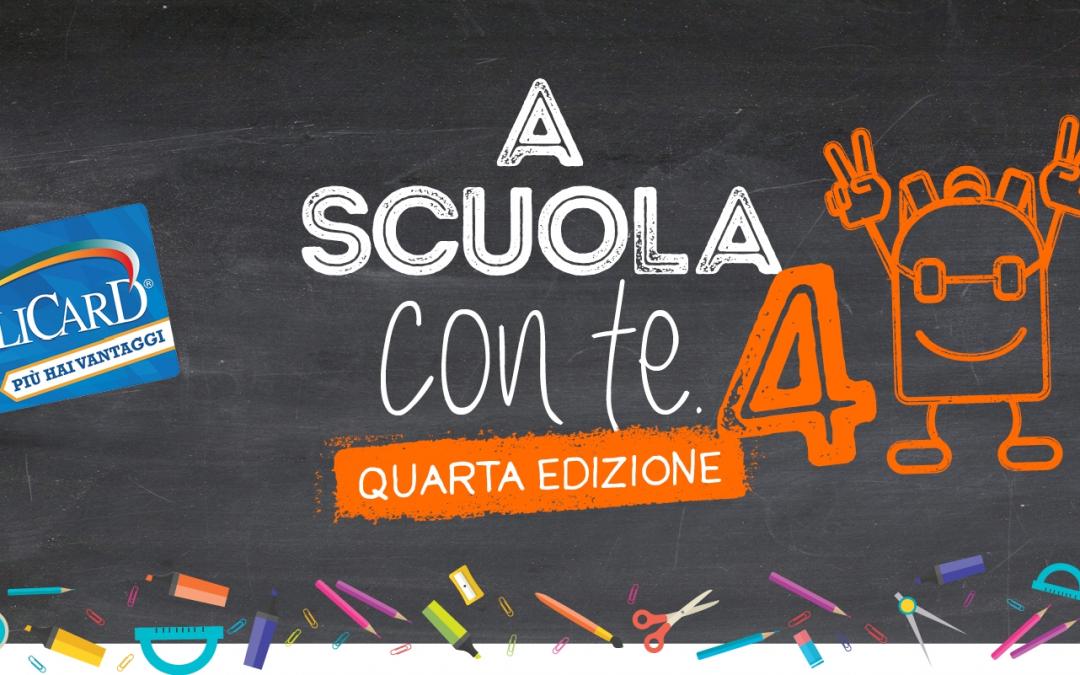 A scuola con te (IV edizione) – Raccolta punti