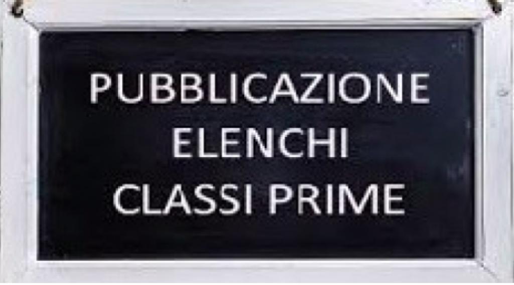 Composizione classi prime