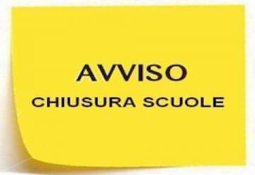 AVVISO ORARIO GIORNALIERO CHIUSURA SCUOLE (tutti i plessi alle ore 19.00)