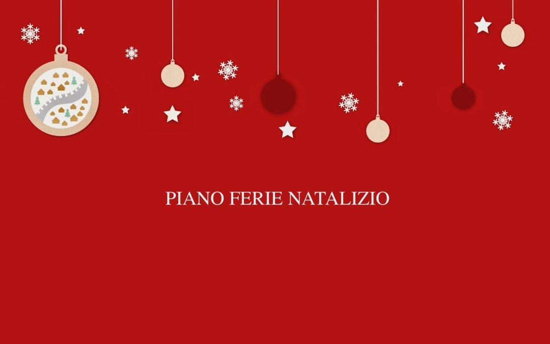 Orario plessi IC Trento2 per ferie periodo natalizio