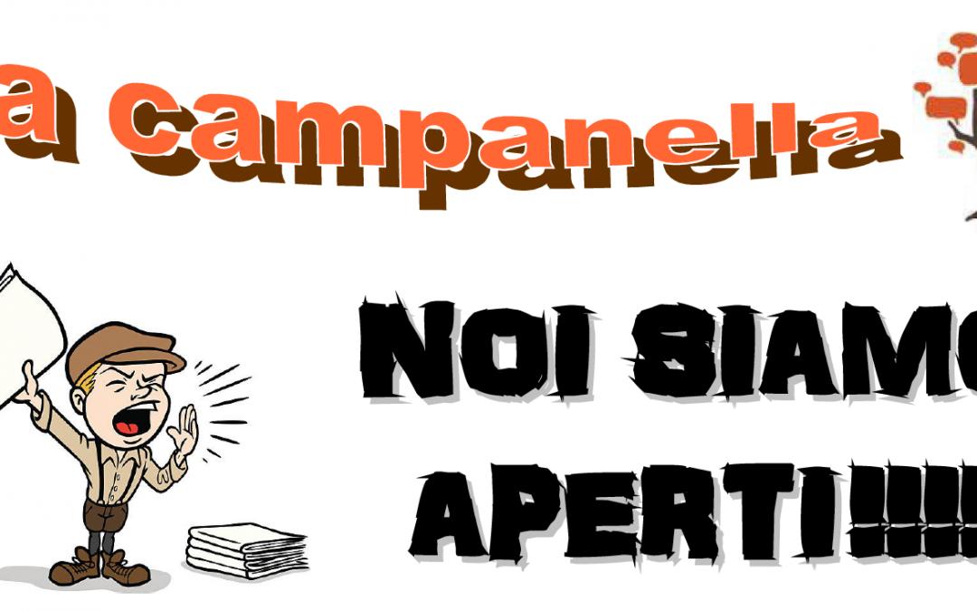 LA CAMPANELLA – Il Giornalino della scuola (Noi siamo aperti…al tempo del Coronavirus)
