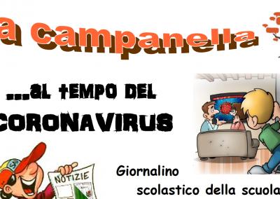 La Campanella PRIMO NUMERO al tempo del Coronavirus (marzo 2020)