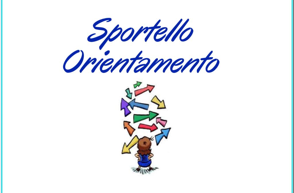 Sportello Orientamento classi 3^ SSPG (dal 12 al 14 gennaio 2021)